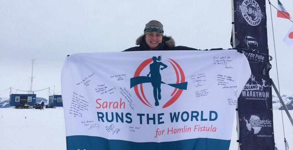Sarah runs the world